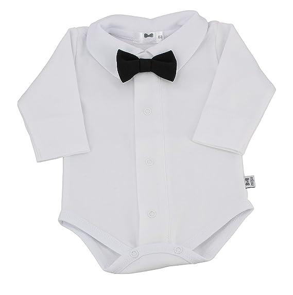 hot-vente authentique moins cher Pré-commander Boutique-Magique Body Chemise Coton bébé garçon avec Noeud ...