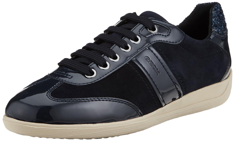 Geox D Myria a, Zapatillas para Mujer 41 EU Azul (Dk Navy/Navy)