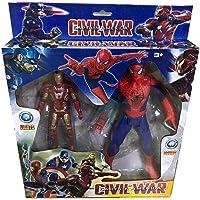 Işıklı, Sesli Avengers Spiderman ve Ironman- Demir Adam Birarada...