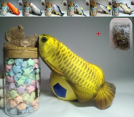 Maibar juguetes para gatos Interactivo pescado juguetes gatos 3D inteligencia mariposa gatos hierba gatera Interactivo para