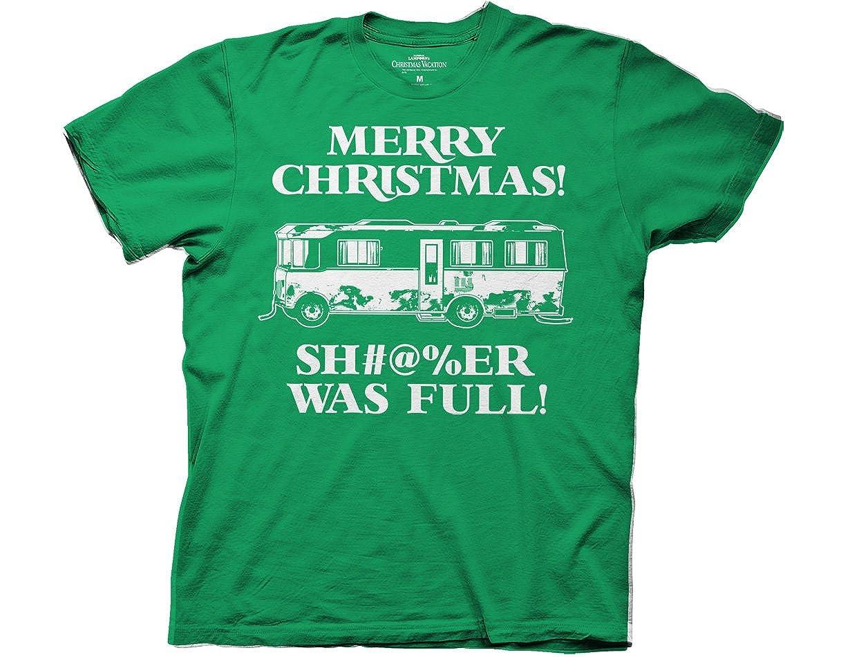 Amazon.com: Christmas Vacation Merry Christmas Shitter Was Full ...