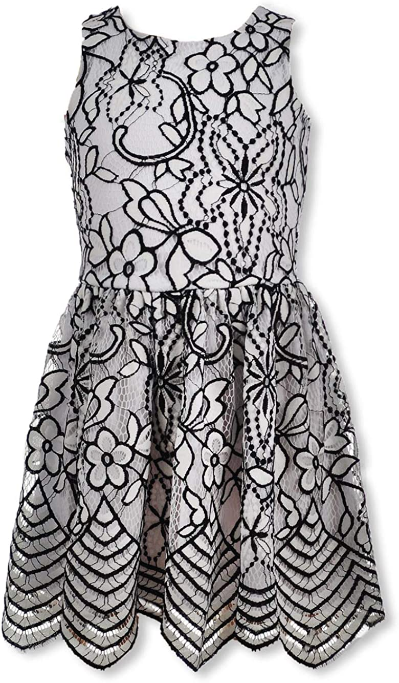Laundry by Shelli Segal Girls' Floral Lace Dress