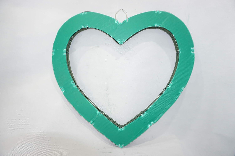 """18/"""" Wired Open Heart Fresh Foam Holders 2 Pack"""