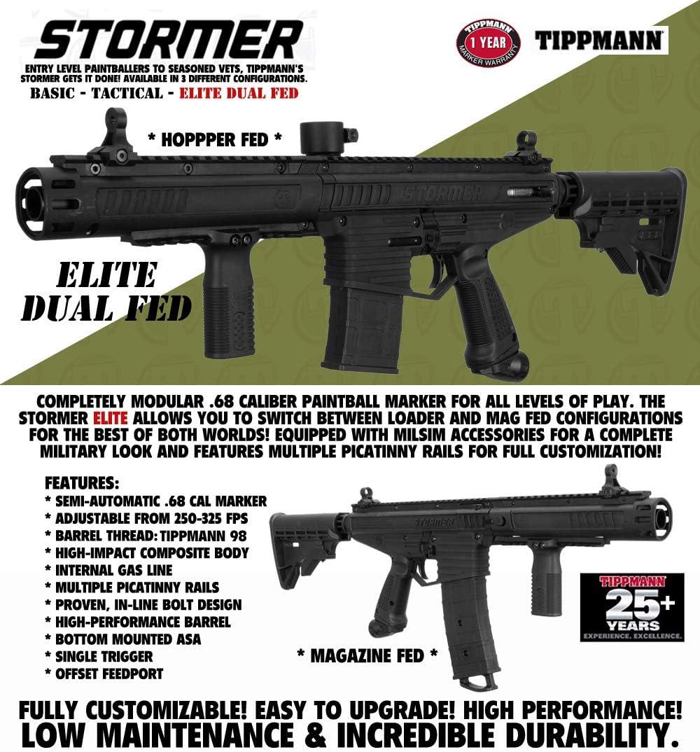 B17 NEW TASO Gloss Black Paintball Gun Marker Drop Forward Standard frame