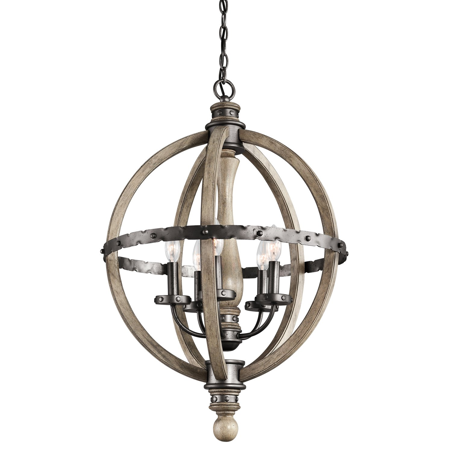Kichler DAG Five Light Chandelier Ceiling Pendant Fixtures