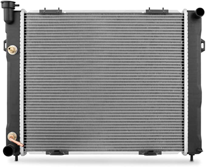 Mishimoto R2182 Jeep Grand Cherokee ZJ 4.0L OEM Replacement Radiator 1998 Silver