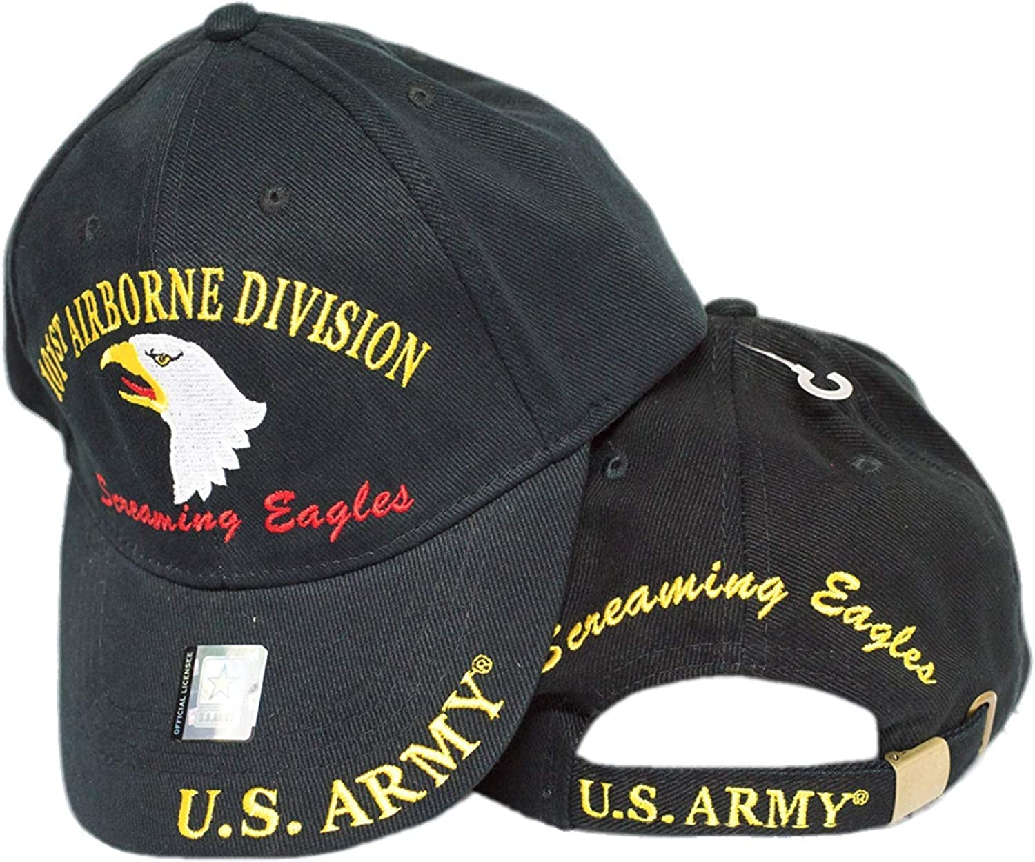 Army 101st Airborne Military Hat Baseball Cap Officially Licensed U.S