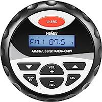 Marine Waterproof Bluetooth Digital Media récepteur stéréo avec lecteur MP3Radio AM FM et USB pour Streaming de musique les bateaux de golf chariots ATV UTV et spa jacuzzi