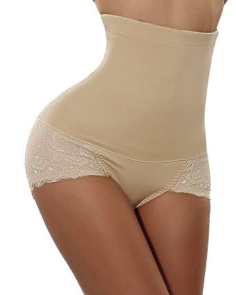 d41da6da9d Women Tummy Control Body Shaper Butt Lifter Panty High Waist Workout  Underwear (S