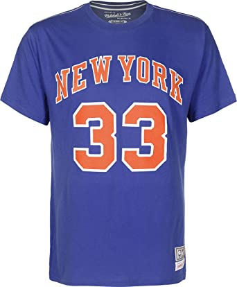 Mitchell & Ness NBA NY Knicks Patrick Ewing Camiseta M royal: Amazon.es: Ropa y accesorios