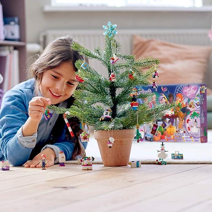 9月新款 LEGO 乐高 Friends好朋友系列 41382 圣诞倒数日历积木玩具 8折$23.99史低 海淘转运到手约¥197
