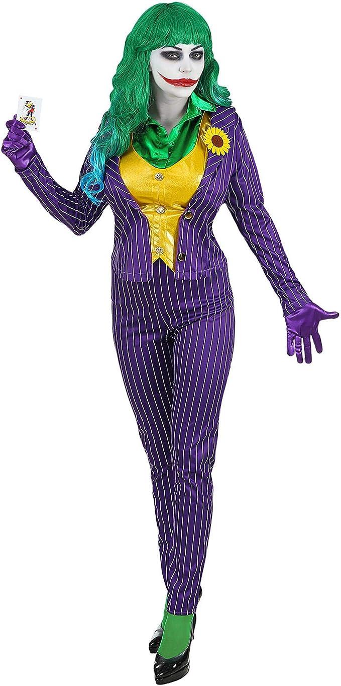 disfraz joker para mujeres