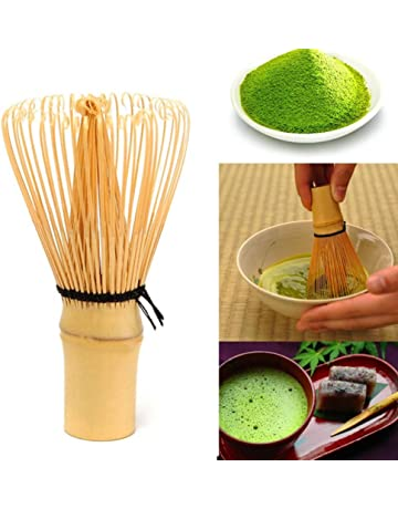 Mezclador de té tradicional Matcha para preparar té de bambú y té matcha talla única madera