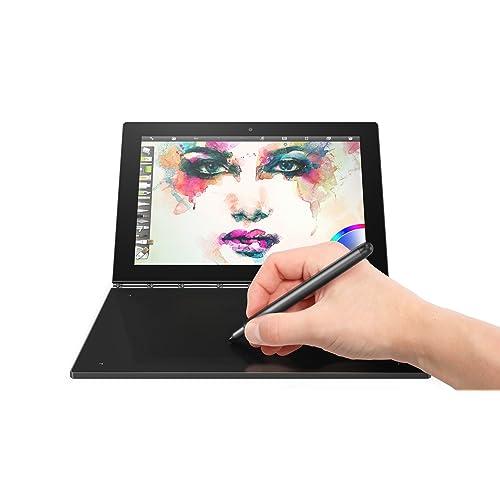 "Lenovo Yoga Book tablette tactile hybride 10"" FHD Noir Carbone (Intel Atom, 4 Go de RAM, Disque dur 64 Go, Windows 10 pro)"