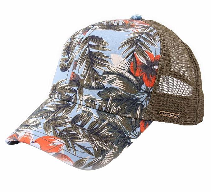Stetson - Gorras de béisbol Hombre Trucker Cap Cotton: Amazon.es: Ropa y accesorios