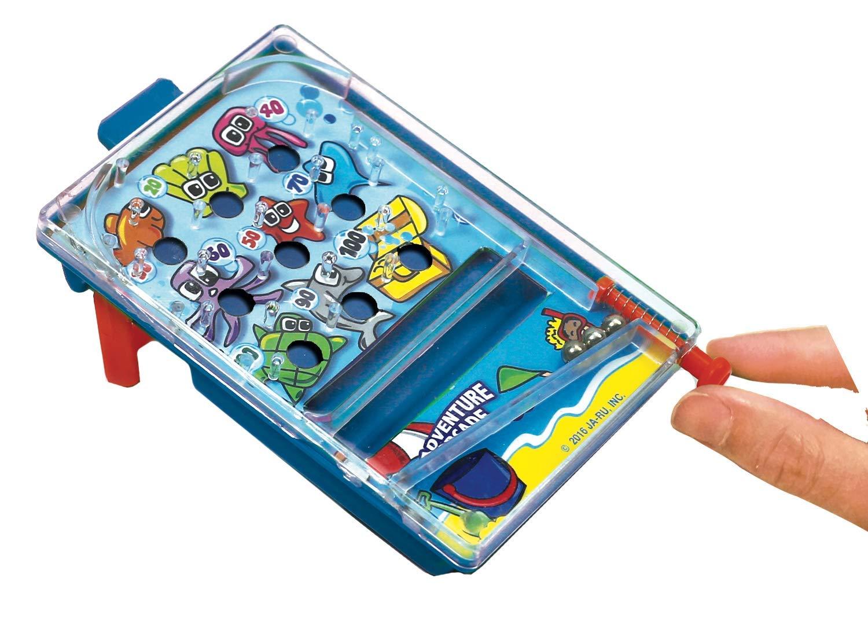 JA-RU Pinball Pocket Travel Game (144 Units) and one Bouncy Ball Item #3258-144p by JA-RU (Image #2)
