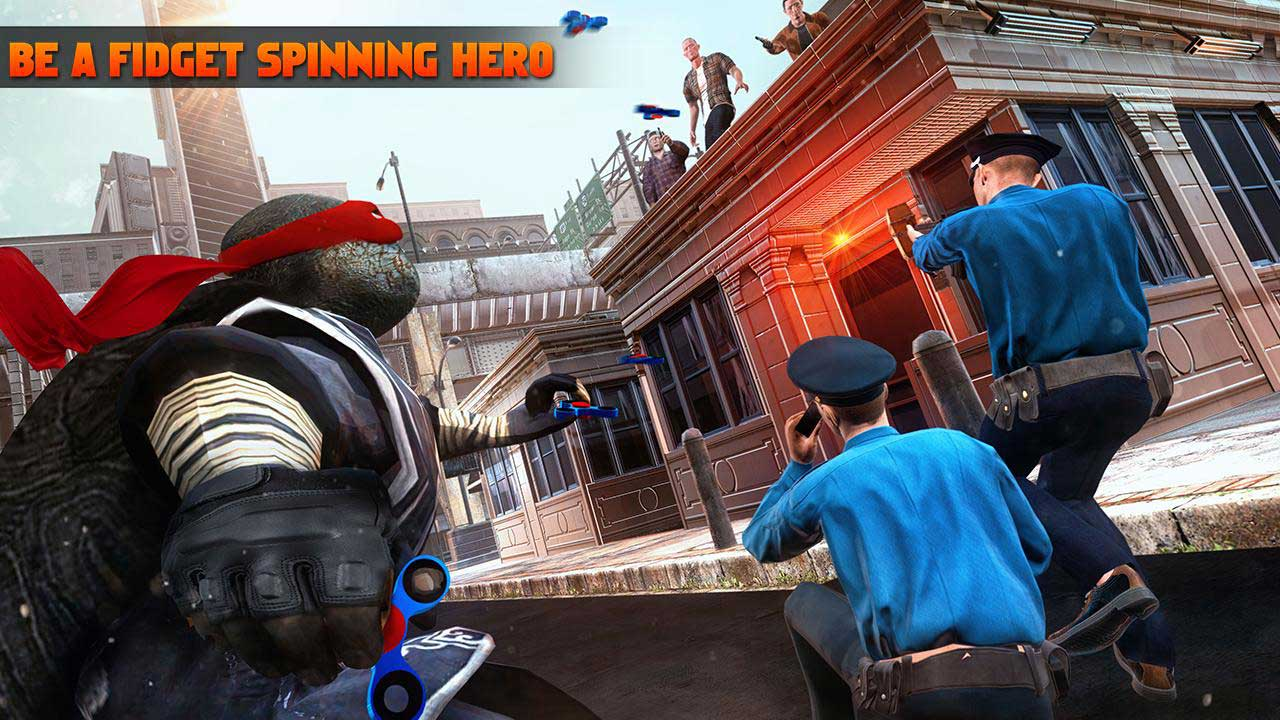 Turtle Hero Ninja Fighting Simulator 3D: Kill Crime City ...