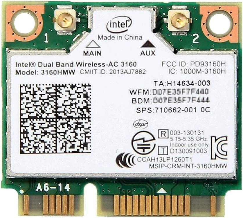 USB 2.0 Wireless WiFi Lan Card for HP-Compaq TouchSmart 420-1172la