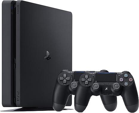 PlayStation 4 (PS4) - Consola De 500 GB, Color Negro + 2 Mandos Inalámbricos DualShock 4 [Importación Alemana]: Amazon.es: Videojuegos