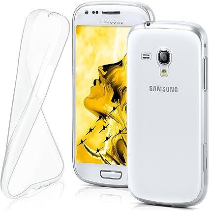 MoEx® Funda [Transparente] Compatible con Samsung Galaxy S3 Mini | Ultrafina y Antideslizante: Amazon.es: Electrónica