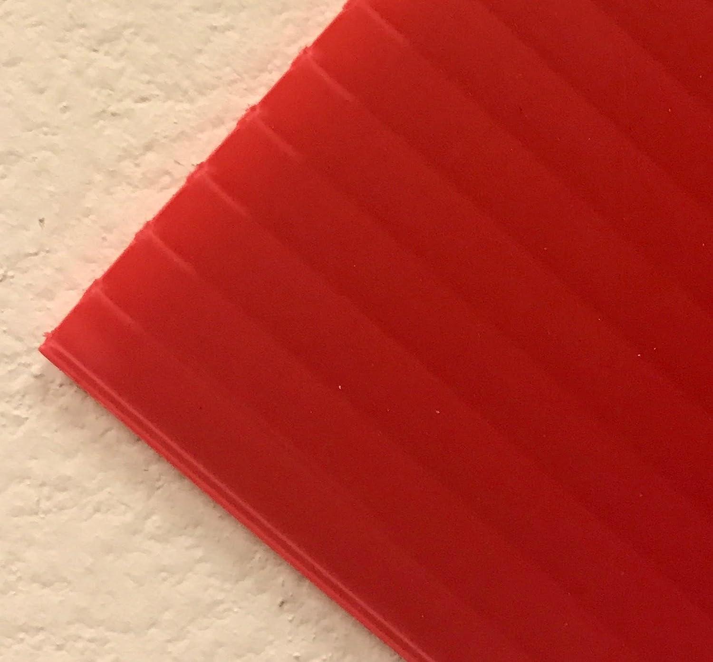 Corrugated Plastic 4mm Boards - 18x12 (10 Sheets) … (Dark Blue) SIBE-R-PLASTIC SUPPLY