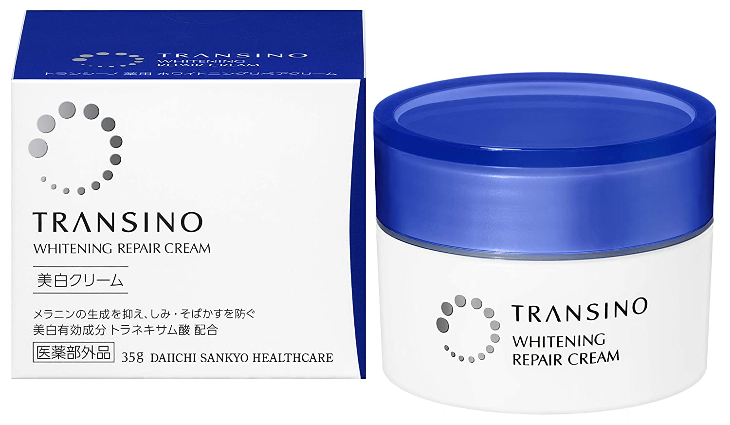 Kem đêm transino whitening repair cream 35g