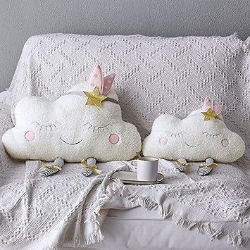 Nuage 40 Nunbee Oreiller dans le style nordique Peluche Poup/ée Cadeau nursery Enfants coussin decoration canap/é voiture scandinave deco D/écoration 50cm