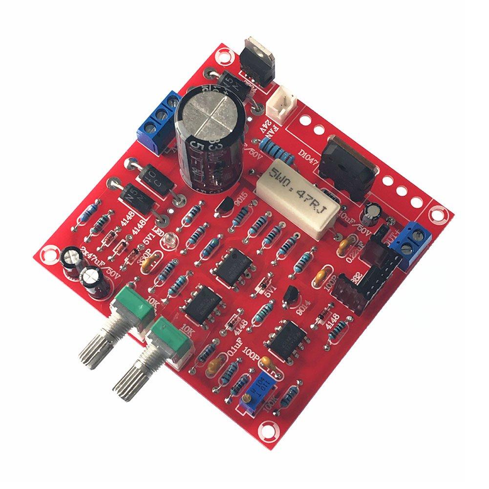Rokoo Alimentation régulée en courant continu 0-30V 2mA-3A Protection contre les courants de court-circuit Stockage DIY 111728
