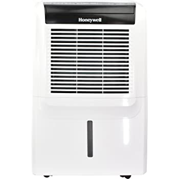 Honeywell Energy Star 70 Portable Vertical 14.4 Pint Bucket Capacity, LED  Display And Digital Humidstat Control, White Dehumidifier With Built In  Drain Pump