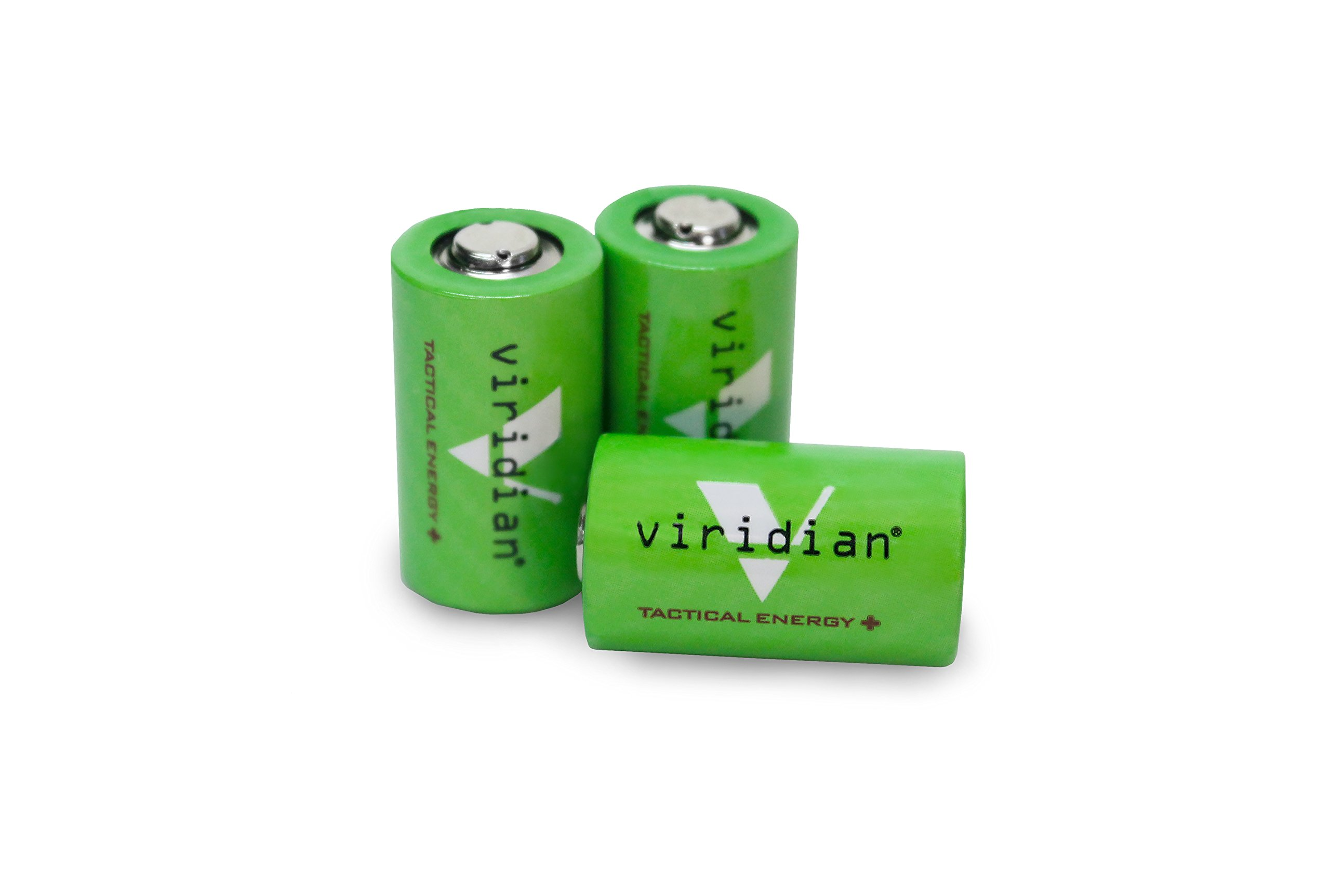 Viridian CR2 3v Lithium Battery (3-pack) by VIRIDIAN WEAPON TECHNOLOGIES (Image #1)