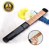 Guitare portable à 6 cordes Oibtech - Accordeur pour débutant inclus Pocket Guitar