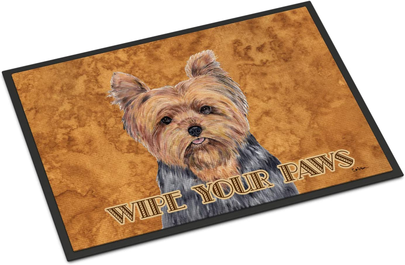 Caroline s Treasures SC9123MAT Yorkie Indoor or Outdoor Mat 18×27 Doormat, 18H X 27W, Multicolor