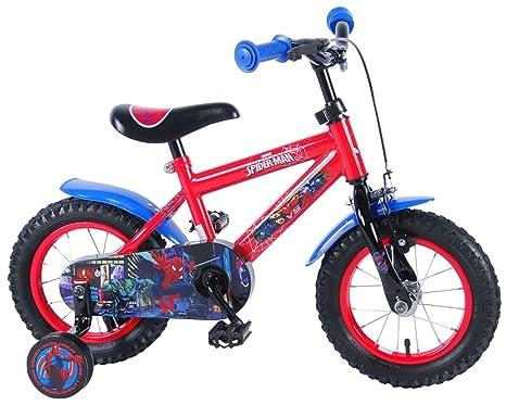 Spiderman Marvel Calidad Bicicleta de 12 Pulgadas Bicicleta ...