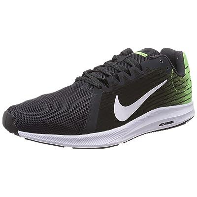 Nike Downshifter 8 Mens Black/Lime/White | Fashion Sneakers