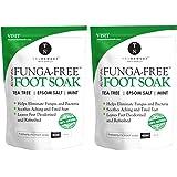 Tea Tree Oil Foot Soak With MSM, Epsom Salt & Mint, Feet Soak Helps Toenail System, Athletes Foot & Stubborn Foot Odor…