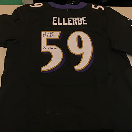 quality design c99ad e33b3 Autographed Dannell Ellerbe Jersey - Nike On Field ...