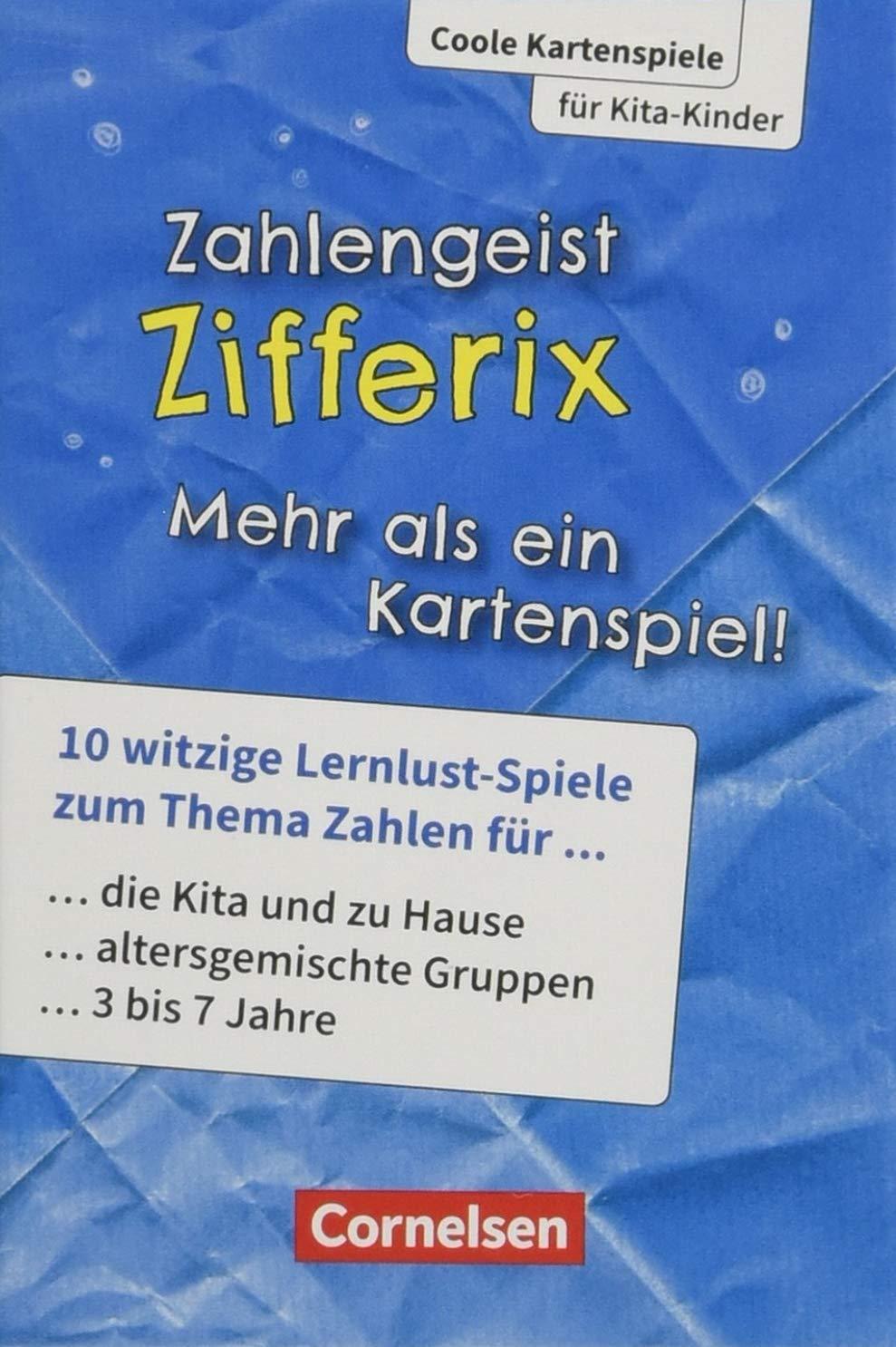 Coole Kartenspiele für Kita-Kinder: Zahlengeist Zifferix: 10 Spiele ...