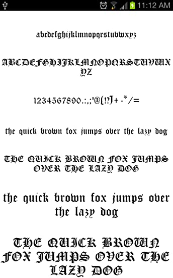 Old English for FlipFont® free