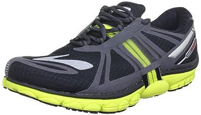 e9b5e8d9312 Brooks Mens PureCadence 2 Running Shoes Color  Blck Anthrct Lava Nghtlfe