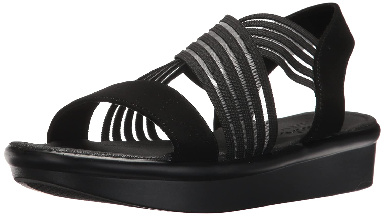 Schwarz(schwarz Bbk) Skechers Damen Bumblers-Stop&Stare Knöchelriemchen Sandalen, Schwarz 41 EU