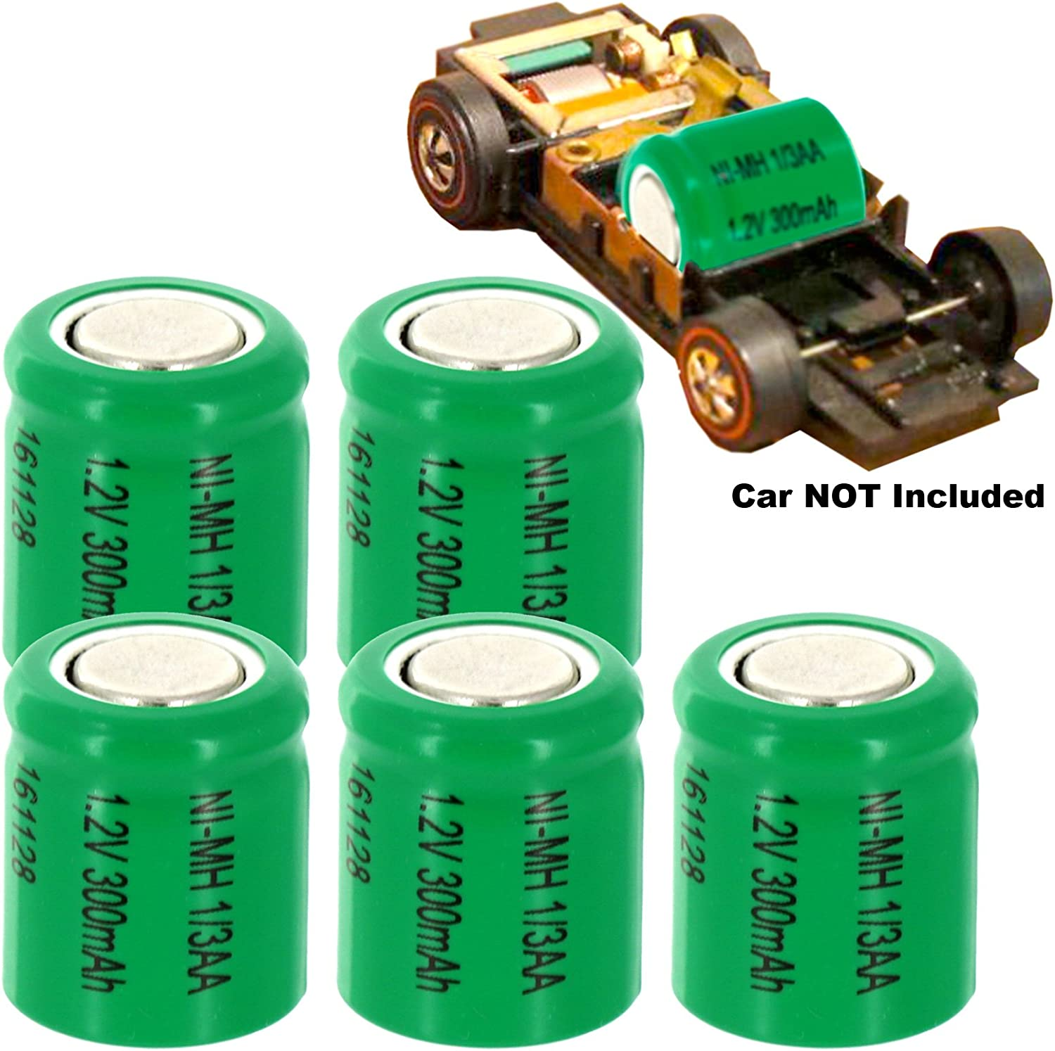 MATCHBOX EARTH SHAKERS AND CHOPCYCLES HOTLINE TRAINS MANTIS 5pc Sizzler Short Chasis 1.2V 1//3AA NiMH 300mAh Flat Top Rechargeable Battery For MUSTANG 302 BOSS SIZZLERS AND SIZZLERS II