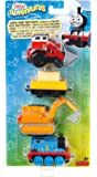 Thomas & Friends DXT79 Adventures Jack & The Pack Engine Toy Pack
