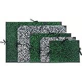 Clairefontaine 31102C Annonay–Carpeta de dibujo, con cintas y sin solapas (lomo 30mm, DIN A4, interior: 24x 32cm, exterior 26x 33cm), color blanco