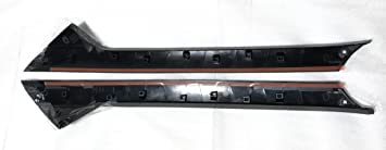 Fits Ford Explorer Windshield-Outer Pillar Left /& Right One Pair Windshield Trim Molding One Pair W//1xDow