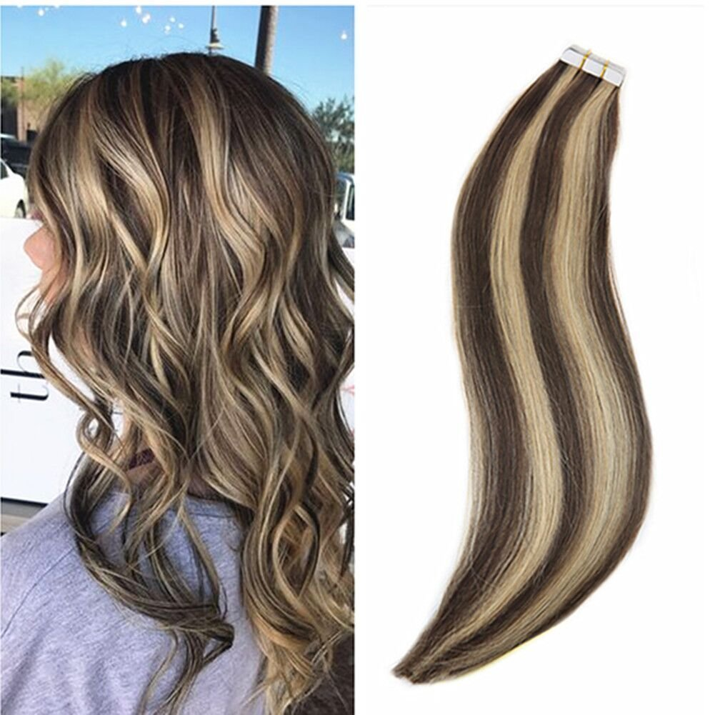 Amazon Ugeat 16 Inch Remy Hair Extensions Highlight Colored