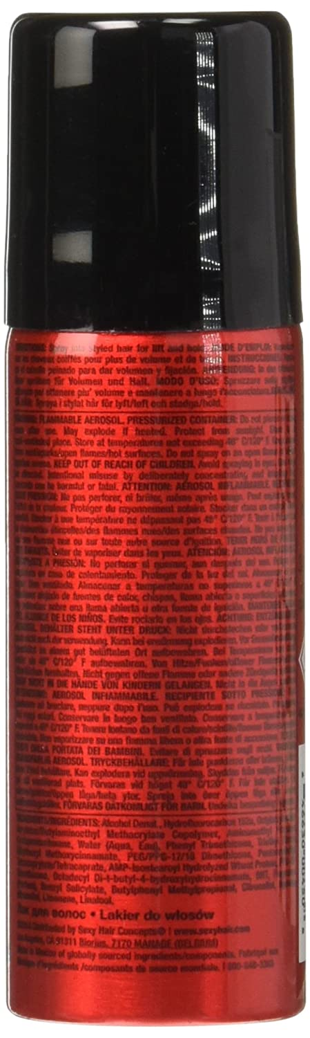 Amazon.com : Big Sexy Spray And Play Hair Spray - Travel Size by Sexy Hair for Unisex - 1.5 Ounce Hair Spray : Beauty