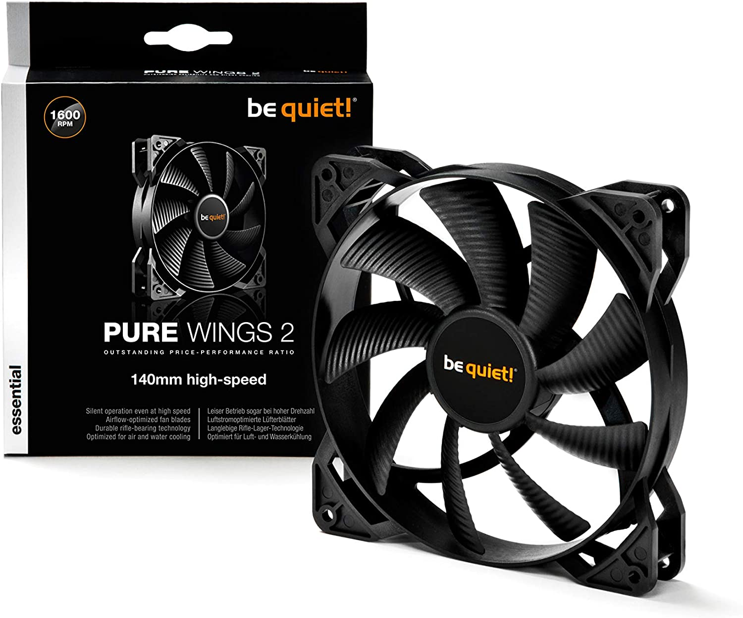 Praised PC Fan 12V 12cm Cooling Cooler Fan with Controller for Computer Silent Gaming Case Blue Light