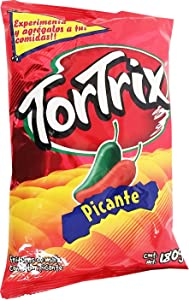 Tortrix Spicy 6.35 oz - Picante Paquete Familiar (Pack of 8)