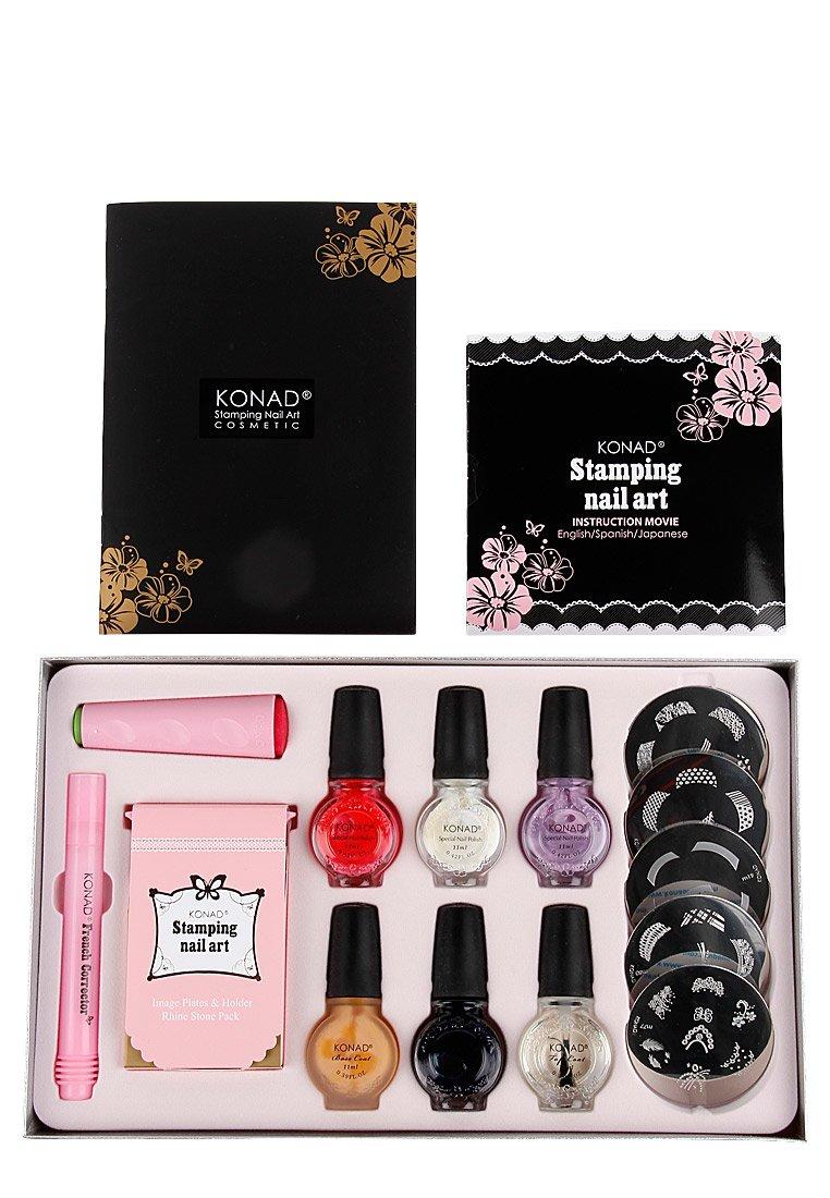 Amazon.com : Konad Premium French Manicure Nail Stamping Kit FAST ...