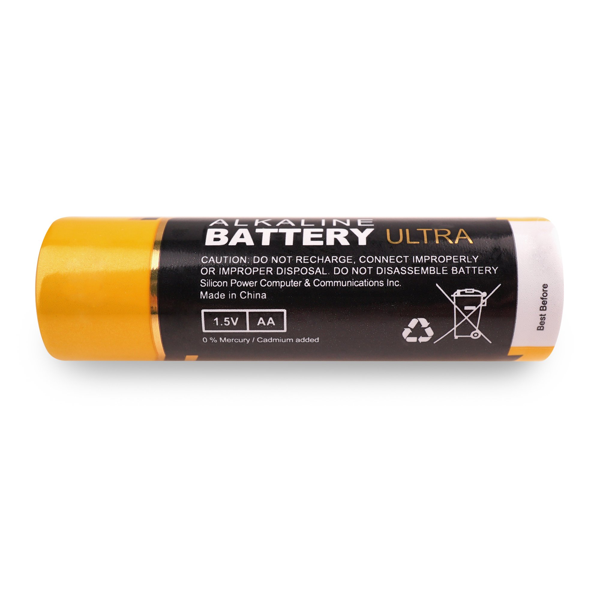 Silicon Power AA 10 Count Value Pack Ultra Alkaline Batteries (SPAL02ABAT10SV1K) by Silicon Power (Image #3)